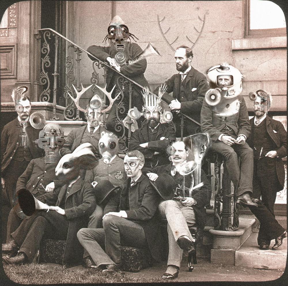 The Huddersfield & District Oneironautical Society AGM, circa 1893.